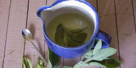 sage tea in mug