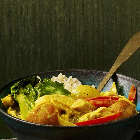 Turkey-Coconut Curry