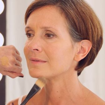 """After the age of 40, skin becomes thinner, making your complexion a bit duller and paler. """"Foundation can add back color and depth,"""" says New York ..."""