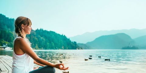Sit up straight and meditate
