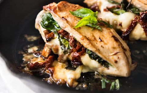 Sundried Tomato, Spinach, & Cheese Stuffed Chicken Breast, chicken breast recipes