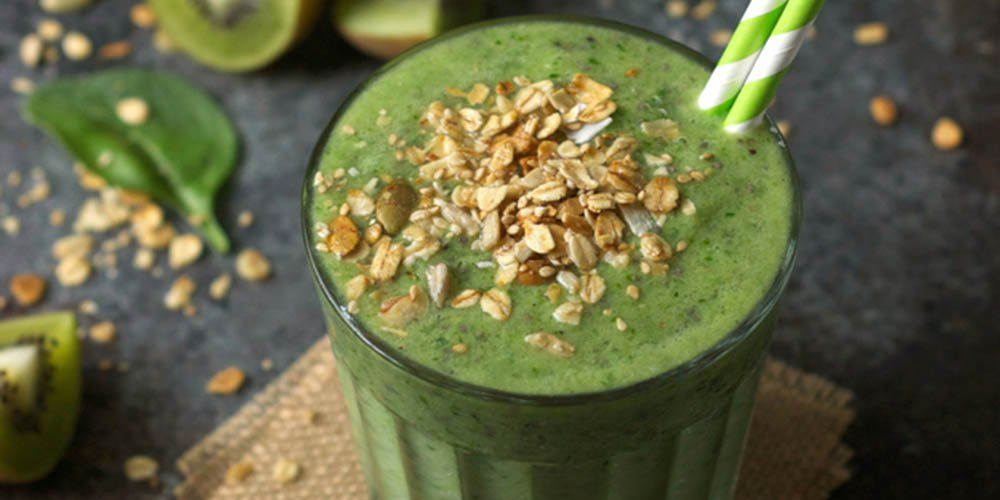 Spinach & Kiwi Smoothie