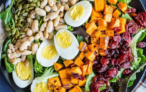 7 Clean, High-Protein Salads To Make Over The Weekend And Pack For Lunch All Week Long