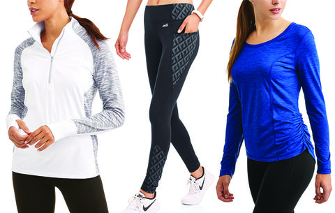 99e775cf6e401 Surprisingly Great Workout Clothes You Can Get At Walmart For Under ...