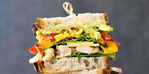 meatless high protein sandwiches