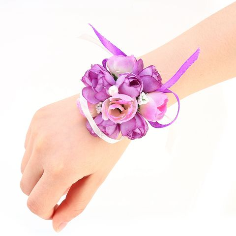 Pink, Violet, Purple, Hand, Hair accessory, Nail, Finger, Fashion accessory, Headband, Flower,