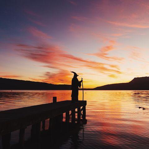 Sky, Water, Sunset, Horizon, Sunrise, Sea, Pier, Afterglow, Reflection, Dusk,