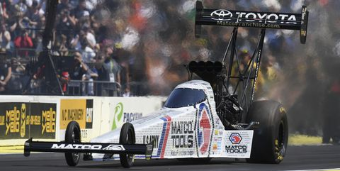 Antron Brown is NHRA Top Fuel Driver of the Decade