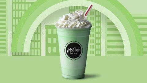 Shamrock Shake Mcdonalds 2019 Details Where To Get A