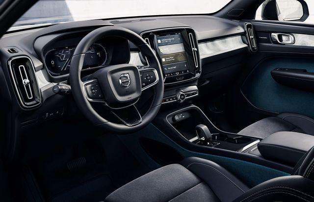 c40 recharge interior