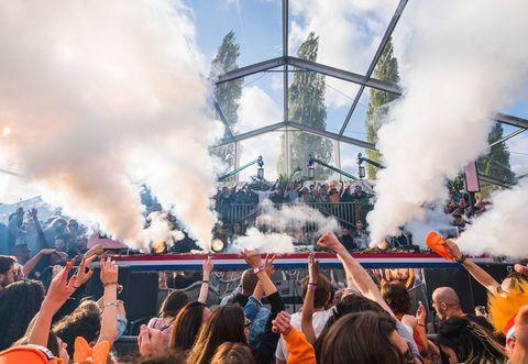 Loveland van Oranje, koningsdag amsterdam
