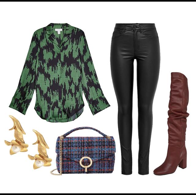 Clothing, Jeans, Green, Denim, Footwear, Fashion, Tartan, Trousers, Textile, Pattern,