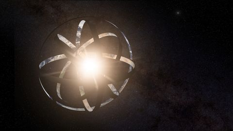 Light, Darkness, Lens flare, Black-and-white, Space, Circle, Graphics,