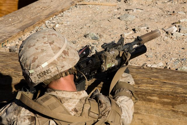 marines suppressors