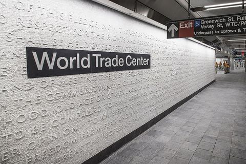 new wtc subway station chorus