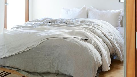 Bedroom, Room, Furniture, Bed, Property, Bed frame, Ceiling, Bed sheet, Interior design, Wall,