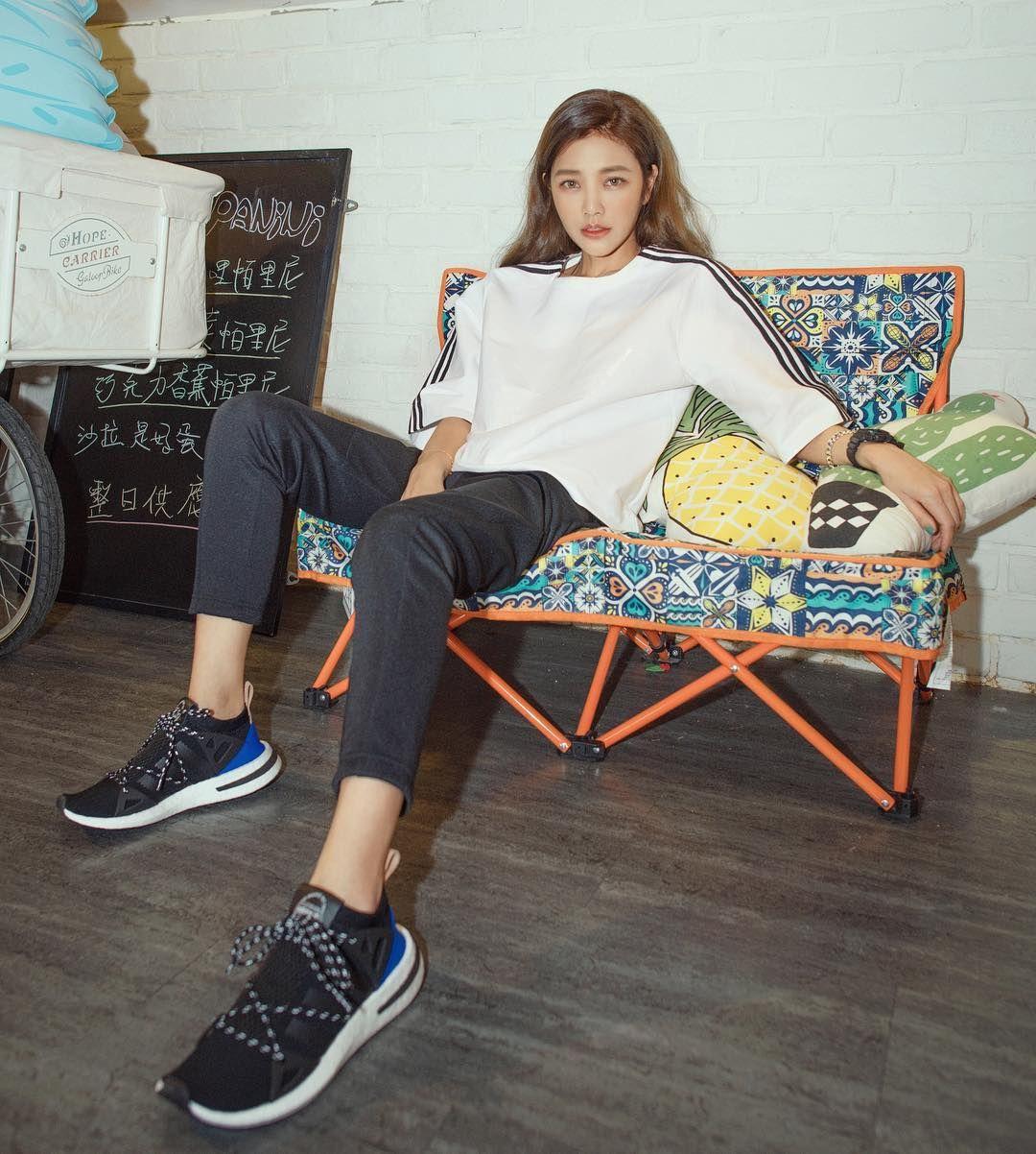 許路兒,adidas Originals,球鞋穿搭,ARKYN 運動鞋