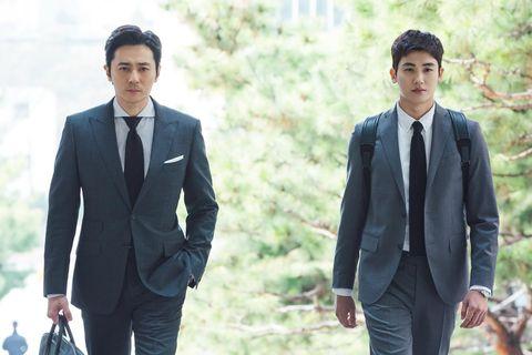 韓劇, suits, 金裝律師, 張東健, 朴炯植