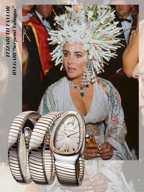 celebrity, エリザベス・テイラー, dame elizabeth rosemond taylor, bvlgari, ブルガリ