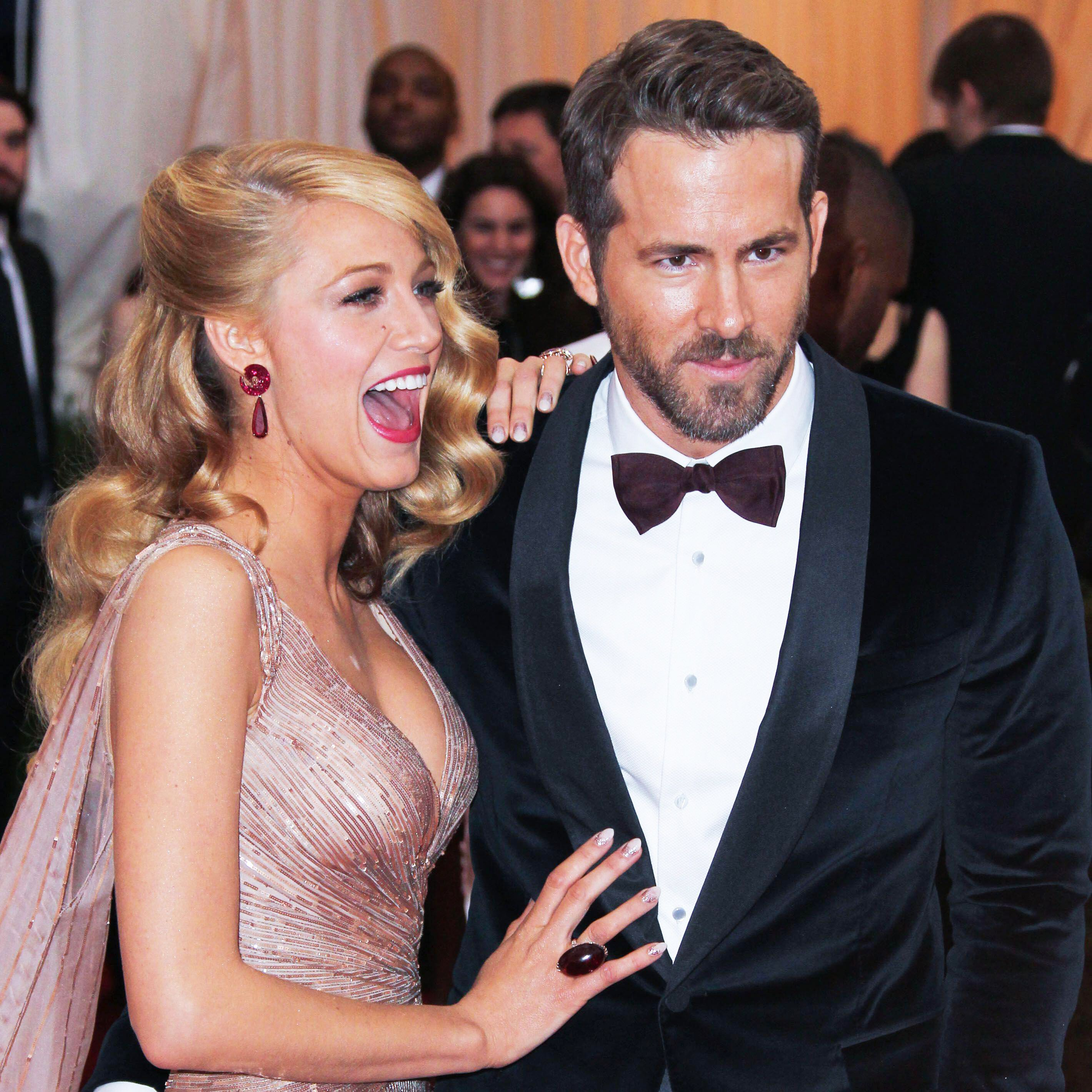 Blake Lively Trolled Ryan Reynolds After He Announced a Break From Making Movies