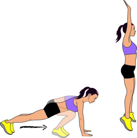ejercicios quemagrasa para hacer en casa