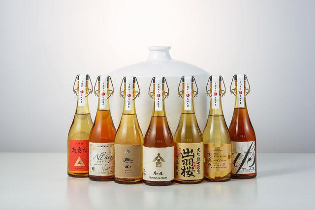 「刻(とき)の調べ」ヴィンテージ日本酒8本セット/一般社団法人 刻(とき)sake協会発足記念商品