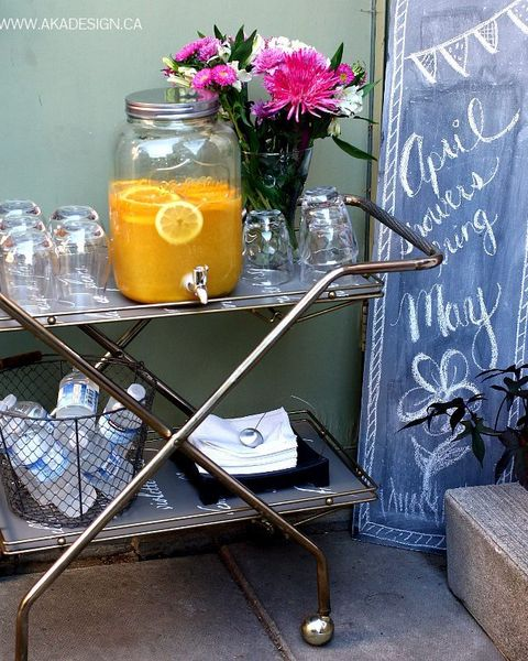 Table, Yellow, Furniture, Shelf, Mason jar, Room, Plant, Coffee table, Flower, Brunch,