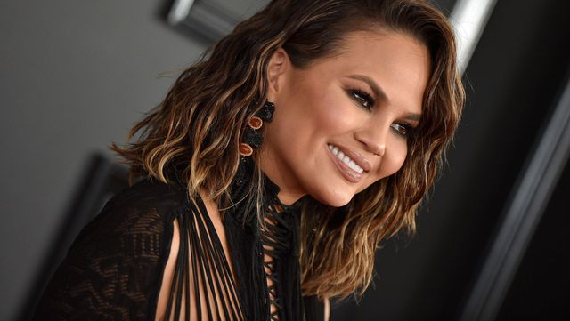 2dg5ear chrissy teigen attends the 59th grammy awards at staples center on february 12, 2017 in los angeles, ca, usa photo by lionel hahnabacaresscom