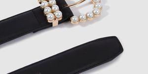 El Corte Inglés cinturón de perlas