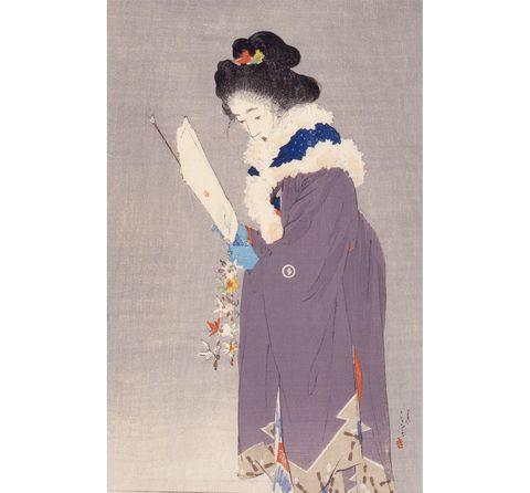 鏑木清方記念美術館 春を待つ