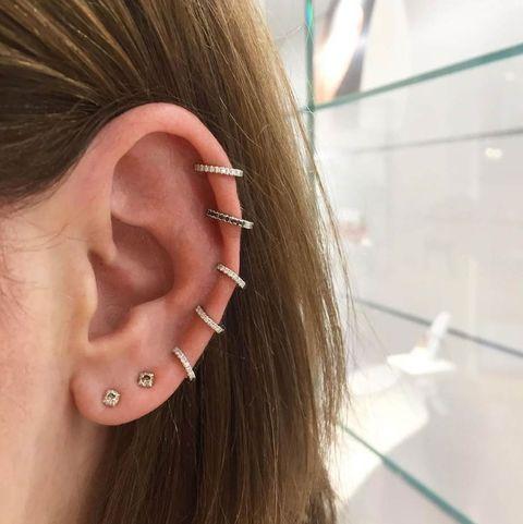 2. 耳骨部位(Helix)