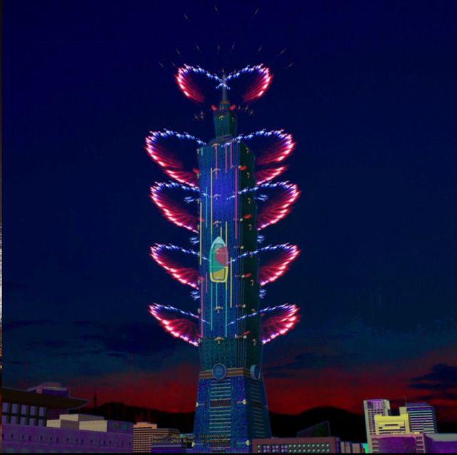 Fireworks, Landmark, New Years Day, Event, Night, Sky, Lighting, Fête, Recreation, Festival,