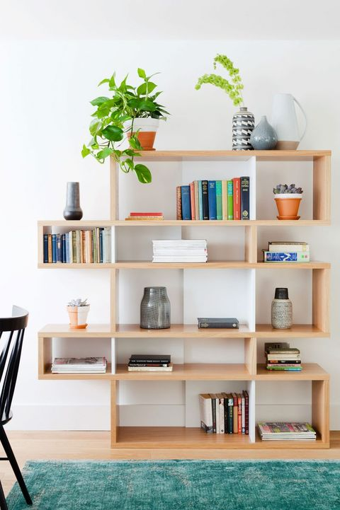 24 Stylish Bookshelf Decorating Ideas - Unique DIY Bookshelf ...