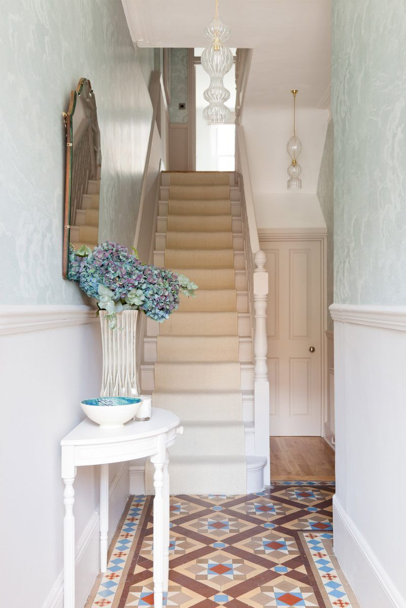 hallway wallpaper trends