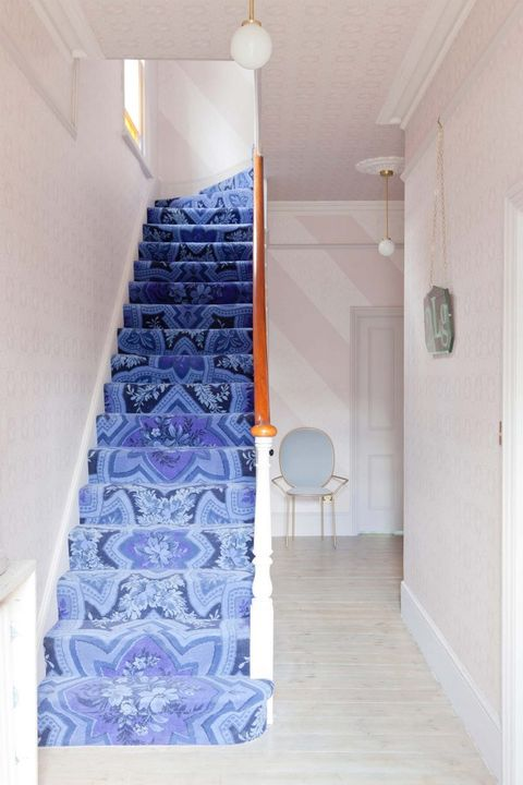 25 Stylish Hallway Wallpaper Ideas Entryway And Stairway Wall Decor Images, Photos, Reviews