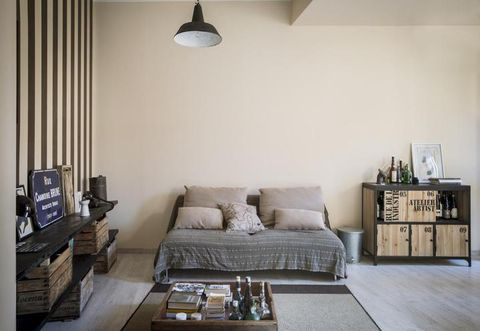 Room, Interior design, Brown, Wood, Living room, Wall, Home, Furniture, Couch, Table,