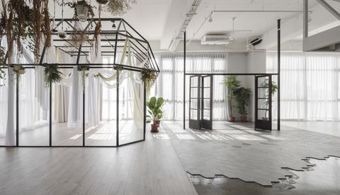 Mu-Mu Photography Studio, de Han Yue Interior Design. Foto: Yi-Hsien Lee Photography