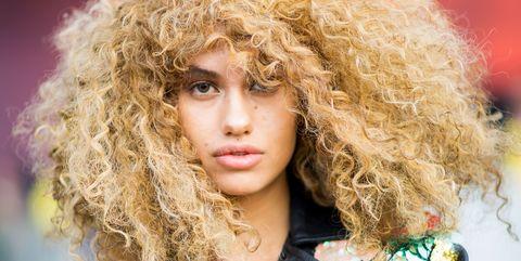 Hair, Hairstyle, Beauty, Fashion, Blond, Lip, Hair coloring, Long hair, Eye, Fashion design,
