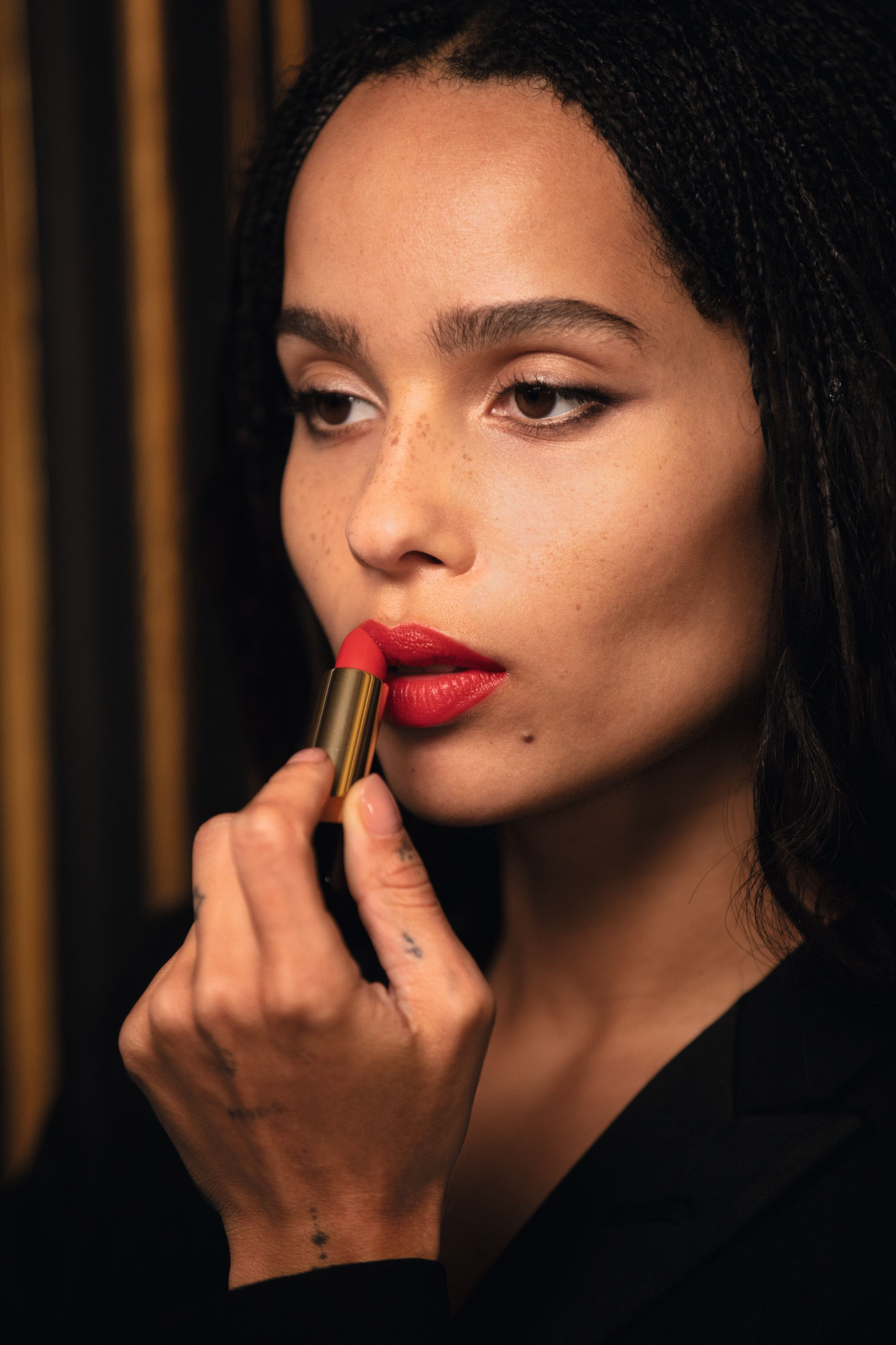 Zoë Kravitz Just Launched a Lipstick Collection with YSL Beauty