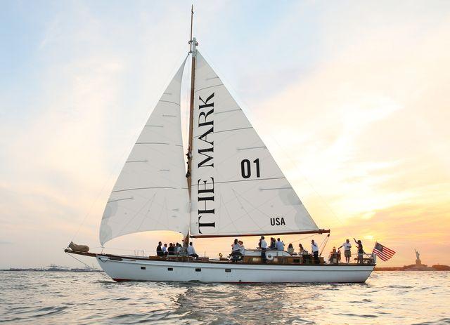 the mark sailboat
