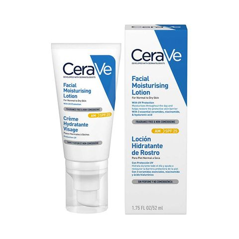 cerave facial moisturising lotion spf