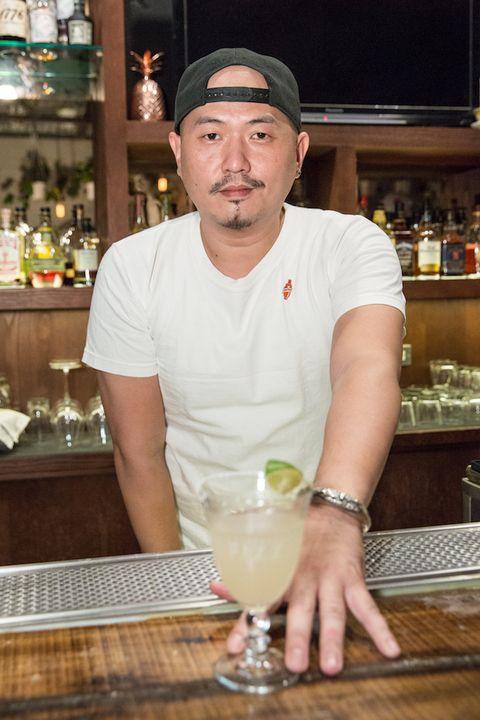 Drink, Alcoholic beverage, Cocktail, Margarita, Distilled beverage, Bar, Bartender, Daiquiri, Pisco sour, Food,