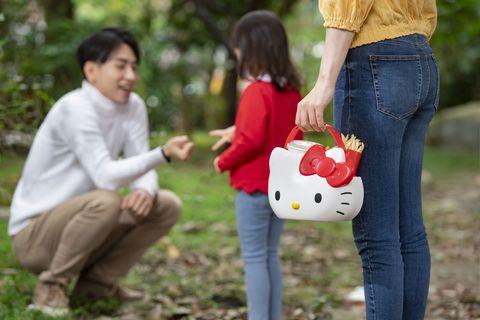 台灣麥當勞Hello Kitty萬用置物籃