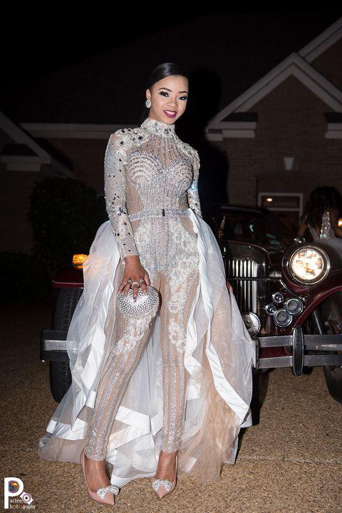 Faith Thigpen\'s Sparkly, Kardashian-Inspired Prom Jumpsuit ...
