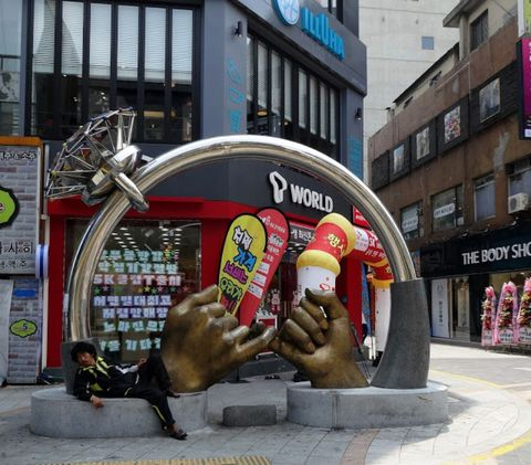 Architecture, Street, Building, Advertising, Art,