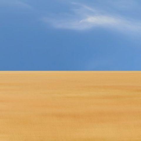 Sky, Blue, Natural environment, Daytime, Desert, Erg, Yellow, Ecoregion, Sand, Sahara,