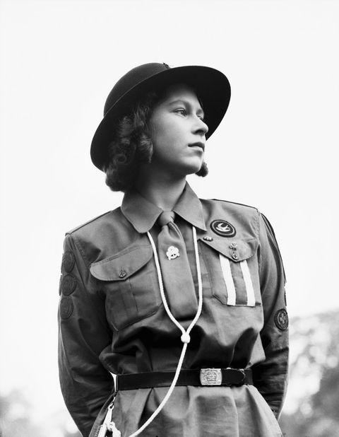 Uniform, Headgear, Black-and-white, Photography, Stock photography, Portrait, Style, Monochrome, Military uniform, Gesture,