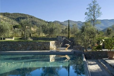 Natural landscape, Nature, Swimming pool, Property, Estate, Reflecting pool, Water resources, Water, Real estate, House,