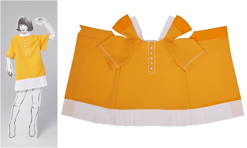 Yellow, Clothing, Orange, Outerwear, Personal protective equipment, Sleeve, High-visibility clothing,
