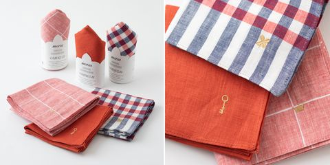 Plaid, Linens, Fashion accessory, Wallet, Textile, Pattern, Coin purse, Handkerchief, Linen,